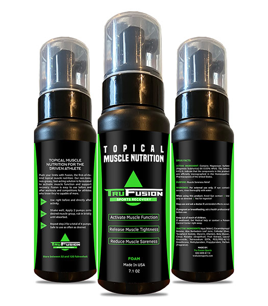 TruFusion Topical Muscle Foam