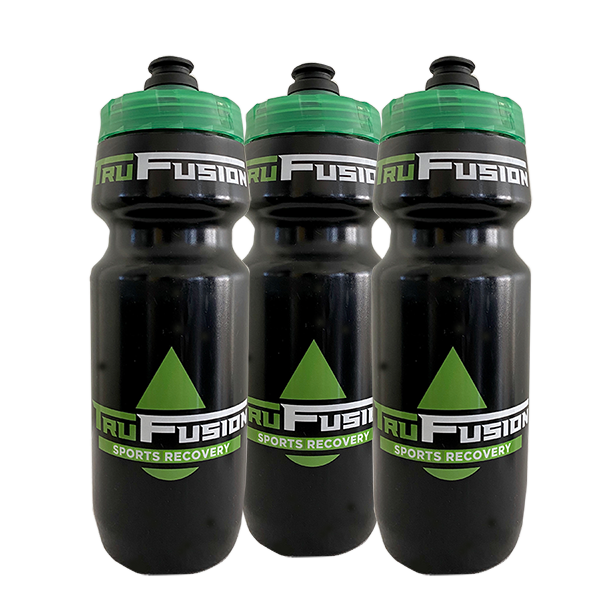 TruFusion Cycling Water Bottle - 3 Pack